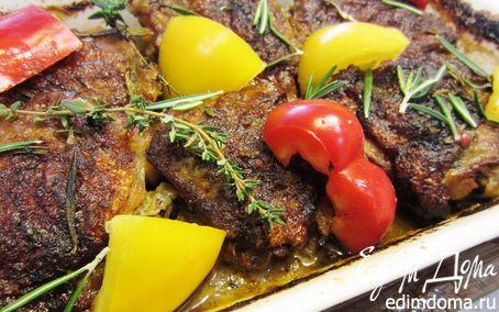 Рецепт Куриные бедра под соусом Пири-пири