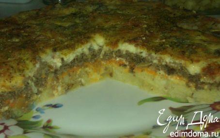 """Рецепт """" Сердечная """" запеканка с сыром и сливочным соусом"""