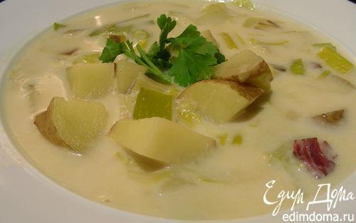 Рецепт Суп(пюре) из лука-порея и картофеля