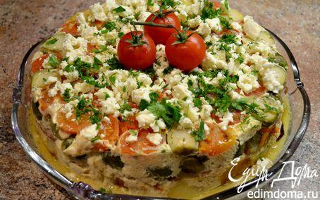 Рецепт Запеканка с овощами и рыбой