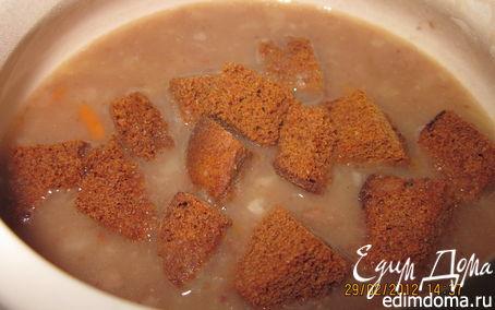 Рецепт Суп-пюре чесночно-фасолевый.Постные дни.