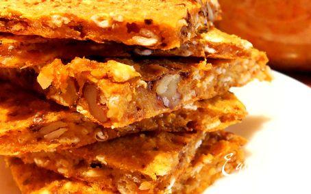 Рецепт Хлебцы пряные без масла