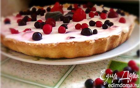 Рецепт Ягодный тарт
