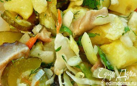 Рецепт Деревенский салат (Постный)