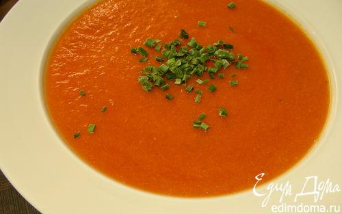 Рецепт Тыквенно-томатный суп-пюре