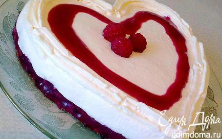 """Рецепт Ягодно-творожный торт """"Признание"""""""