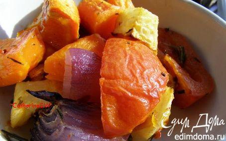 Рецепт Запеченные зимние овощи