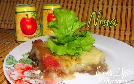 Рецепт Картофельная запеканка с грибами