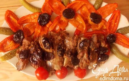 Рецепт Свинина с черносливом в коньяке