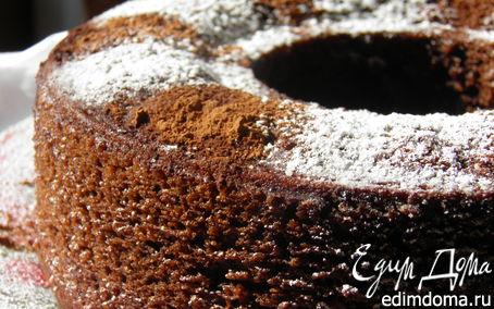 Рецепт Шоколадно-цитрусовый торт (для постных дней)