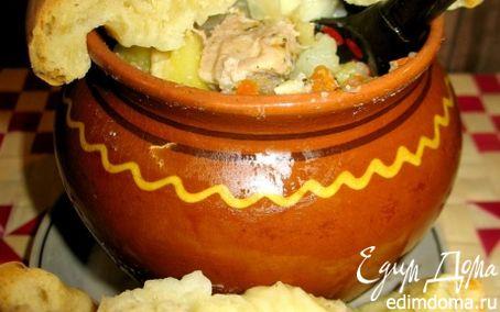 Рецепт Горшочки с мясом свинины