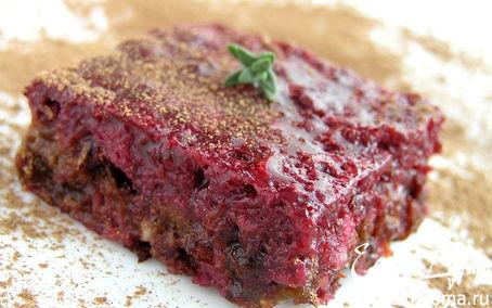 Рецепт Нежный ягодный десерт