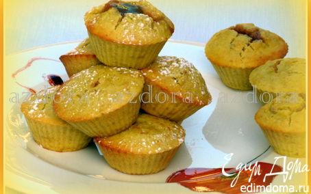 Рецепт Яблочные маффины из рисовой муки