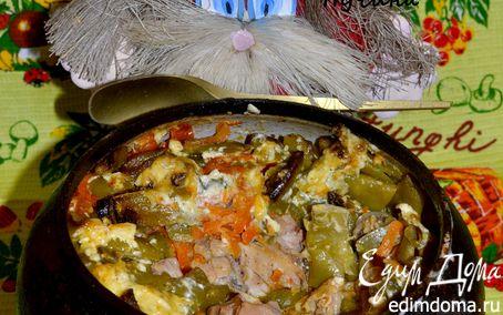 Рецепт Курица в горшке-чугунке!)