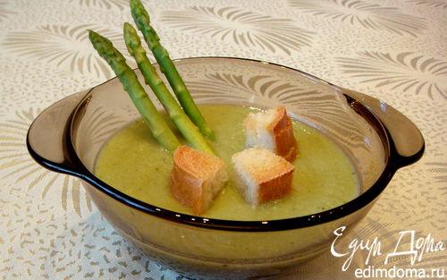 Рецепт Суп-пюре с брокколи и куриной грудкой