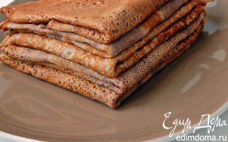Рецепт Блины+ шоколадные блины