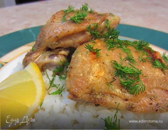 Запеченные куриные бедрышки - настоящий вкус куриного мяса