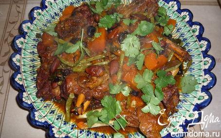Рецепт Тажин из баранины