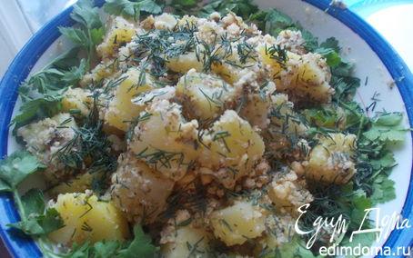 Рецепт Ореховый салатик в пароварке