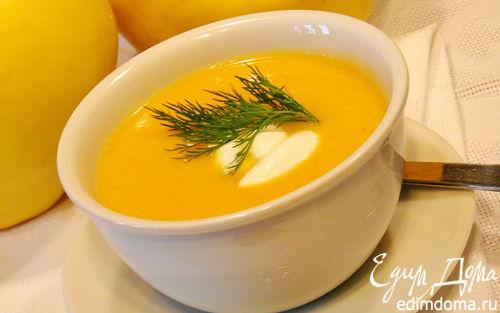 Рецепт Суп-пюре из репы,сельдерея,курицы и тыквы