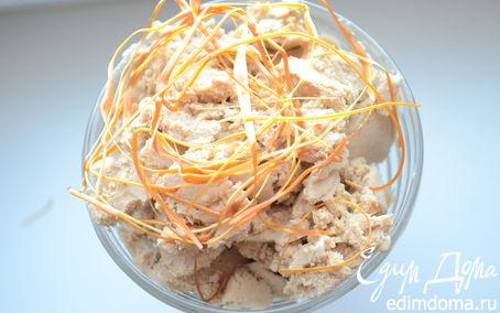 Рецепт Кофейное мороженое с карамелью