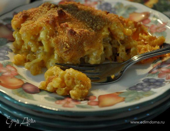 Запеканка для гурманов-Gourmet macaroni and cheese