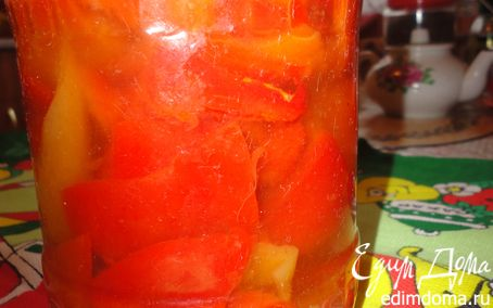 Рецепт Сладкий перец на зиму