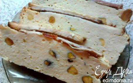 Рецепт Куриное суфле с фисташками