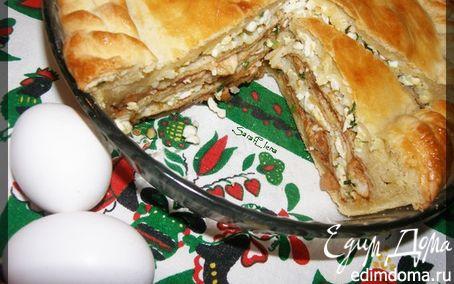 """Рецепт """"Курник"""" или """"Свадебный пирог"""" - русская традиционная кухня, ну немного с блинами!"""