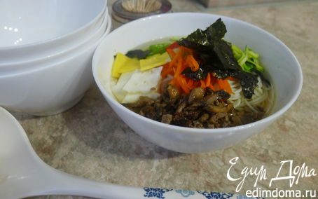 Рецепт Чанчи Куксу - праздничная корейская лапша