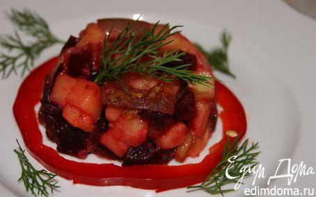 Рецепт Простой свекольный салат