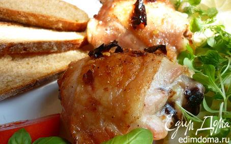 Рецепт Острая маринованная курица в духовке. Pollo alla diavola