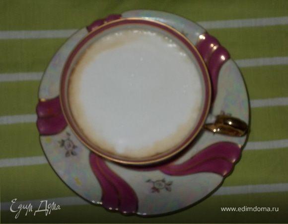 Чай с молочной пенкой