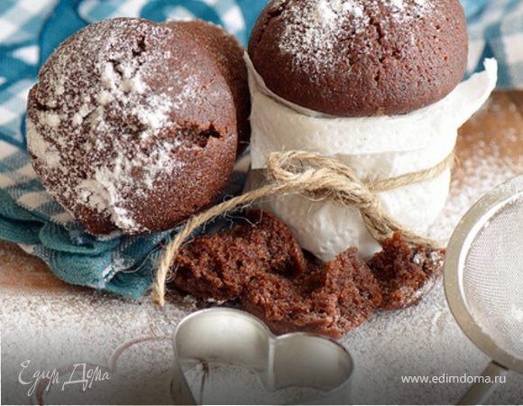Быстрые шоколадные кексы