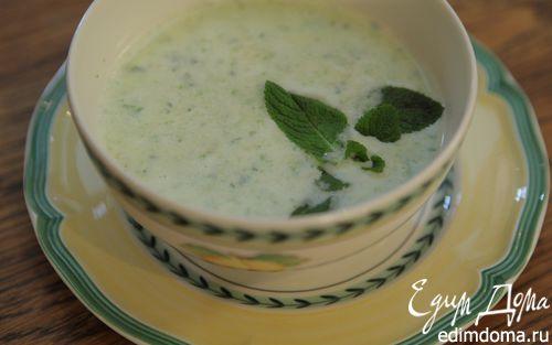 Рецепт Суп из кабачков с мятой