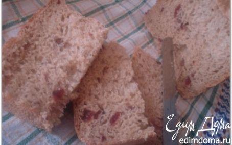 Рецепт Пшенично-ржаной хлеб с клюквой в хлебопечке