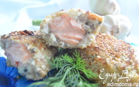 Рецепт Рыбные зразы с семгой