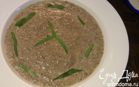Рецепт Крем-суп из шампиньонов с эстрагоном