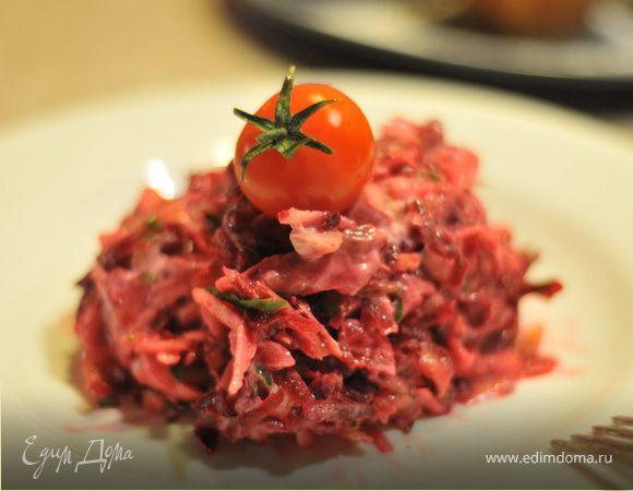 Свекольный салатик