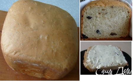 Рецепт Хлеб с изюмом и розмарином в хлебопечке