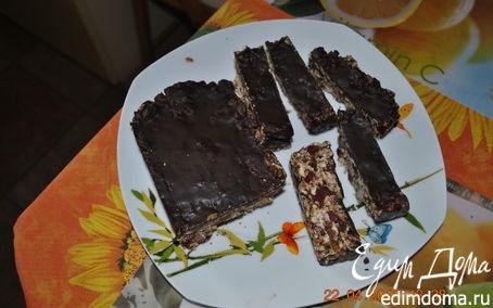 Рецепт Быстрые мюсли с шоколадной глазурью