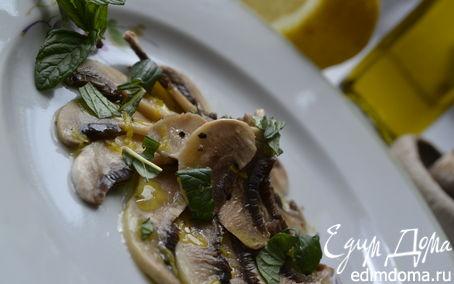 Рецепт – Карпаччо из шампиньонов