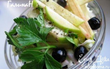 Рецепт Салат с белокочанной капустой и черной смородиной