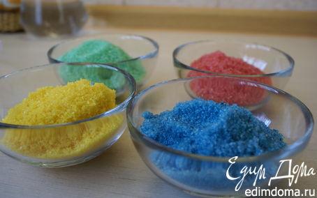 Рецепт Цветной сахар/Color sugar