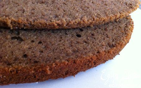 Рецепт Идеальный шоколадный бисквит