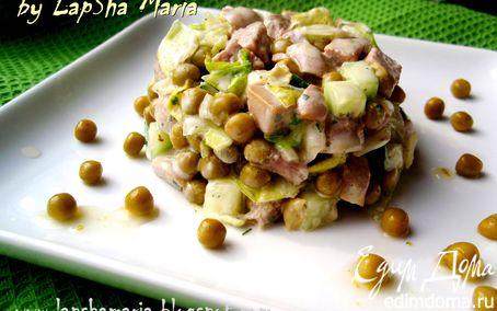 Рецепт Салат с говядиной и грибами