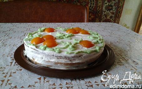 Рецепт Бисквитный торт со вкусом из детства