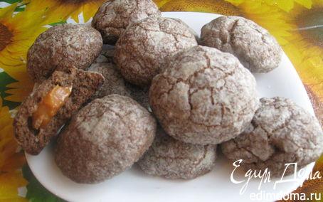 Рецепт Печенье с ириской