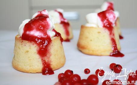 Рецепт Быстрые творожные кексы