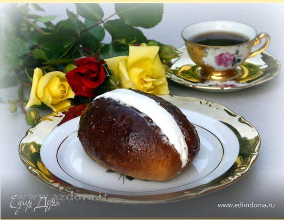 Завтрак в Риме - маритоцци (воздушные булочки со взбитыми сливками)